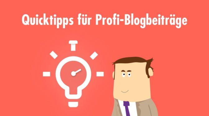 Modular aufgebaute Corporate Blogs [inklusive Checkliste]