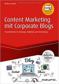 Content Marketing mit Corporate Blogs - Buch