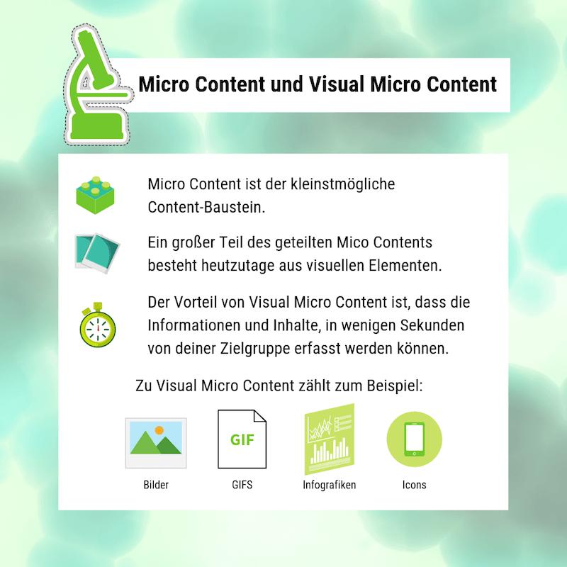 Welche Inhalte sind Micro Content?