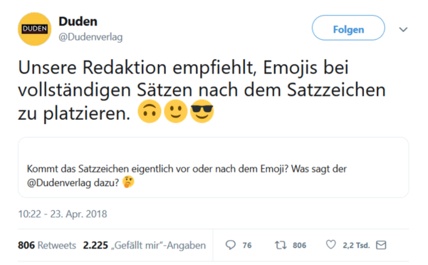 Emotionen Duden