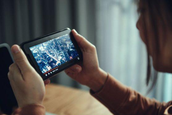 Imagefilm auf Smartphone