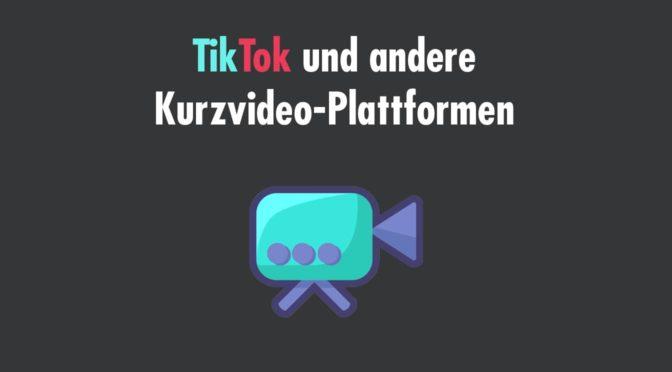 TikTok Alternativen für Kurzvideos